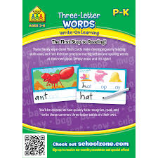 three letter words write on learning interactive flash cards makes learning easy zone