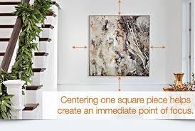 how to arrange a wall art gallery in