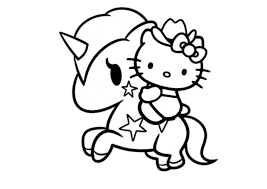 Hello kitty coloring pages are images of the fictional hero who is thought up by the japanese designer yuko shimizu. 15 Awesome Kitty Coloring Pages Jaimie Bleck