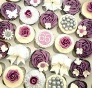 60th Birthday Cupcakes Ideas Bahuma Sticker