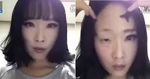 eye popping video shows woman remove make up to reveal amazing transformation mirror