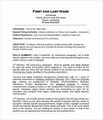 The Best Way To Write Government Resume Examples Visit To Reads
