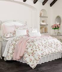 piper wright rosalie crochet trimmed fl striped comforter set