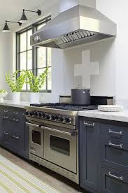 Kitchens With Grey Cabinets Adorable Blue Kitchen Cabinets Contemporary Kitchen James R Salomon