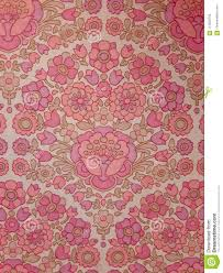 Behang Oud Roze