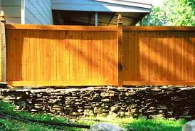 Patio Privacy Fence Backyard Fence Ideas Privacy Fence Ideas For Patios Half Brick