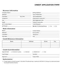 New Customer Application Form Template Dazzleshots Info