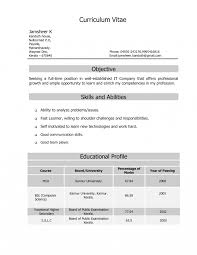 Mca Fresher Resume Templatemat In Word Cv Free Download Doc Format