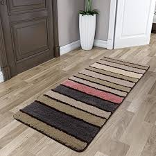 lifewit multicolor stripe long area runner rug 23 62x70 86inch 2x6 feet vintage saxony woven hallway