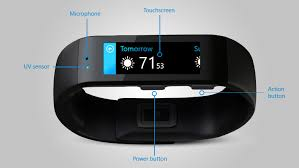 Microsoft Fitness Tracker Microsoft Band A Smartwatch Acts As A Fitness Tracker