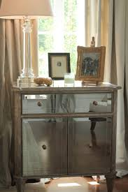 Mirrored Night Stands Bedroom 17 Best Images About Mirrored Furniture On Pinterest Mirrored