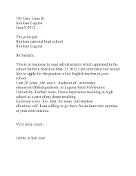 Resume Cover Letter Sample Philippines Bestsellerbookdb Sample Job