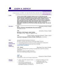 Popular Resume Templates | Musiccityspiritsandcocktail.com