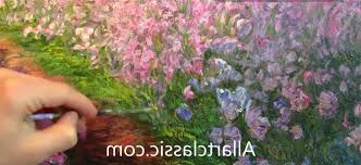 monet style of painting painting monet irises in the garden impressionism you