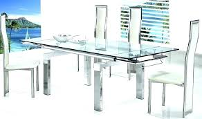 ikea glass table glass tables glass dining table clearly fascinating finds for the home clear chairs ikea glass table