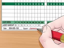 How To Read A Golf Scorecard 10 Steps With Pictures Wikihow