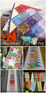Table Runner Patterns Mesmerizing 48 Table Runner Patterns