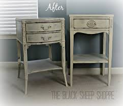 Shabby chic nightstand French Provincial Snegmarketclub Shabby Chic Nightstands