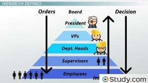 Workplace Hierarchy Chart Organizational Chart And Hierarchy Definition Examples