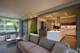 Pictures Of Kitchen Living Room Open Floor Plan Cute With Pictures Contemporary Open Plan Kitchen Living Room