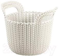 <b>Curver Knit XS</b> 03671-X64-00 / 226385 (белый) <b>Корзина</b> для ...