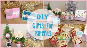 Diy Holiday Gift Ideas For Parents Ilikeweylie Youtube Cute Diy Gifts For Your Parents