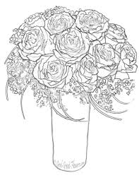 free printable rose coloring pages free printable coloring pages