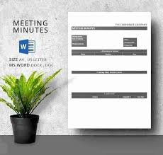 Meeting Minutes Template Excel Meeting Minutes Template Excel Sample ...
