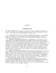 appendixes   u s  nuclear engineering education  status and    page