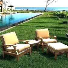 teak patio furniture costco lawn outdoor table set l35