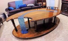 50 resin wood table ideas