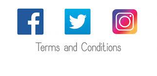 facebook twitter instagram logo. Modren Instagram Facebook Twitter And Instagram Terms Conditions On Facebook Logo L
