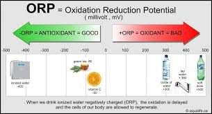 Orp Chart Ph Orp Antioxidant Ionized Water Aqualife