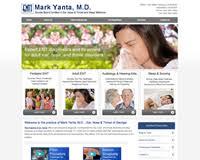 Ent Associates Of North Georgia Ent Otolaryngology Website Design Website Design For Ent Ear Nose