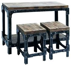 reclaimed wood pub table wooden pub table set wood pub bistro small bar chairs table kitchen
