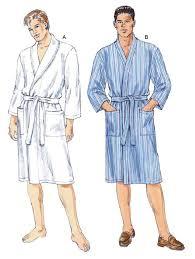 Robe Sewing Pattern Best Kwik Sew 48 Men's Robe