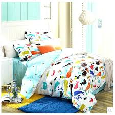 kid western bedding bedding sets kids stylish animal print cute white affordable cotton kids bedding sets