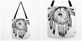 Where To Buy Dream Catchers In Toronto Dream Catcher Tote Bag Tequila Motel tequilamotel indie 55