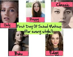 first day of makeup for every style the the