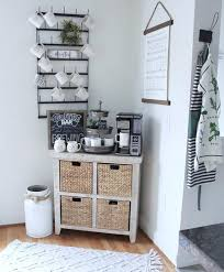 Keep it simple, try something bold, or design something sophisticated with take your dining set up to the next level with these cute and cozy breakfast nook ideas. Farmhouse Coffee Bar Ideas Life On Summerhill