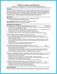 As You Are Confused On How To Arrange An Attorney Resume Sample You