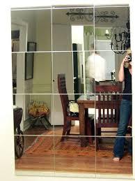 mirror wall bedroom