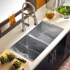 Kitchen  Apron Sink 18 Gauge Stainless Steel Sink Porcelain Best Stainless Kitchen Sinks