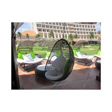 wicker outdoor hanging egg pod chair vp egg chair outdoor74