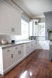 White And Gray Kitchen 17 Best Ideas About White Grey Kitchens On Pinterest White