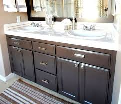 Refinishing Bathroom Vanity Photos And Products Ideas Adorable Refinishing Bathroom Vanity