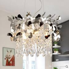 new modern crystal chandelier led light gold chrome res hanging light for dinning room living room chandelier rectangular chandelier industrial