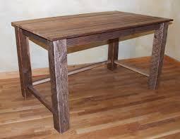 rustic writing desk barn wood