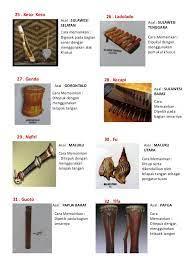 50 alat musik tradisional indonesia beserta asal daerahnya by pixelproposal indonesia adalah negara kepulauan yang terkenal dengan keanekaragaman suku dan budaya yang membuatnya juga memiliki berbagai macam alat musik tradisional. Alat Musik Tradisional Di Indonesia Beserta Nama Daerahnya