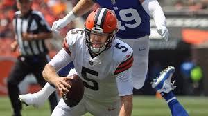 browns vs giants preseason score